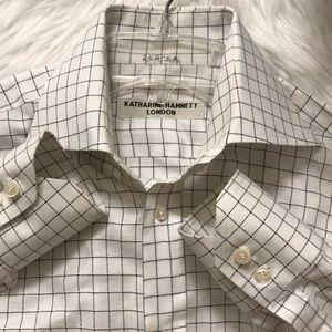 EUC Katharine Hamnett London oxford dress shirt